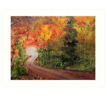 Canopy of Colors Art Print