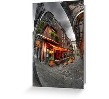French Quarter Alley, New Orleans Greeting Card