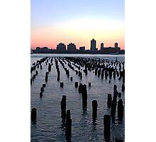 Hudson Sunset Photographic Print