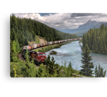 Canadian Pacific Railroad Metal Print