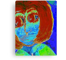 Feeling BLUE and Totally Frustrated Canvas Print