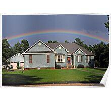 Rainbow Canopy Poster