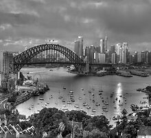 A Study In Black & White - Sydney Australia - The HDR Experience by Philip Johnson