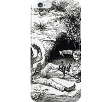 Achille Sirouy Mark Twain Les Aventures de Huck Huckleberry Finn illustration p069 iPhone Case/Skin