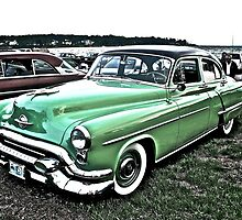 1953 Oldsmobile - Cruise Night - Oakland Beach - RI by Jack McCabe