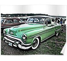 1953 Oldsmobile - Cruise Night - Oakland Beach - RI Poster