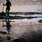Low Tide in Kawhia by Florian Herrmann