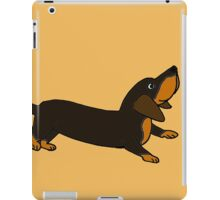 Playful Crouching Dachshund Puppy Dog Original Art iPad Case/Skin