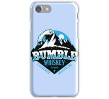 S. Claus Distillery - Bumble Whiskey iPhone Case/Skin