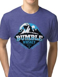 S. Claus Distillery - Bumble Whiskey Tri-blend T-Shirt