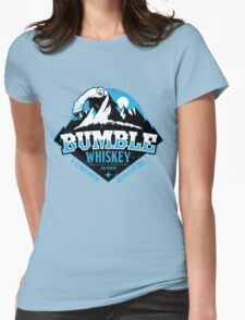 S. Claus Distillery - Bumble Whiskey Womens Fitted T-Shirt