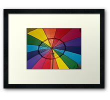 COLOR WITH SHADE Framed Print