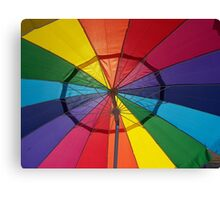 COLOR WITH SHADE Canvas Print