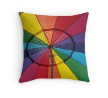 COLOR WITH SHADE Throw Pillow