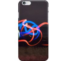Red Blue and Yellow iPhone Case/Skin