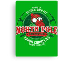 Yukon Cornelius North Pole Brewpub Canvas Print