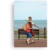 Mugged by Grey Willie Canvas Print