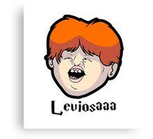 Wingardium Leviosa Ron Weasley Canvas Print