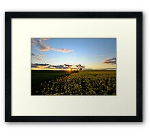 Sunset Glory Framed Print