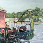 Gloucester Boats by Richard Nowak