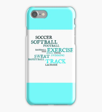 All Kinds of Sports iPhone Case/Skin
