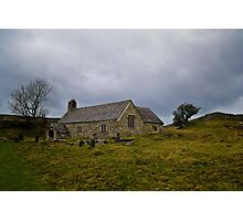 Church set in Wales Landscape Photographic Print
