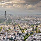 Paris pano. by Victor Pugatschew