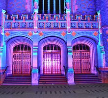 Northern Lights - Bonython Hall 3 doors by bsn-photography