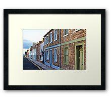 Coloured Houses Framed Print