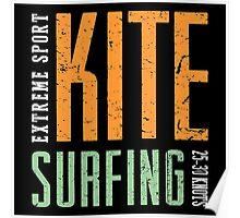 Extreme Sport Kitesurfing Art16c Poster