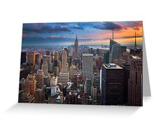 Big Apple Skyline Greeting Card