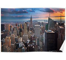 Big Apple Skyline Poster