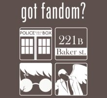 Got Fandom? Kids Clothes