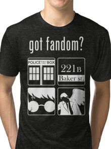Got Fandom? Tri-blend T-Shirt
