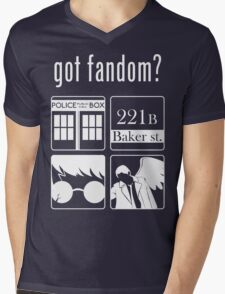 Got Fandom? Mens V-Neck T-Shirt