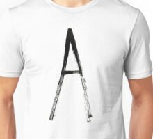Anarchy brush Unisex T-Shirt