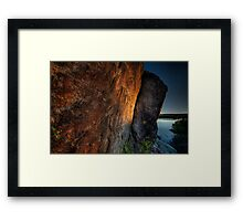 Catching Light Framed Print