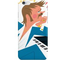 Todd Terje Cover Drawing  iPhone Case/Skin