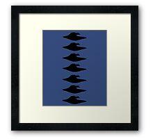 Iconic UFO Framed Print