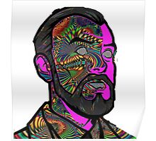 Psychedelic krieger Poster