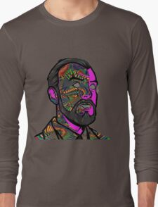 Psychedelic krieger Long Sleeve T-Shirt