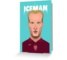 The Iceman Greeting Card
