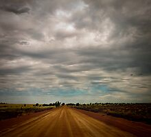 Dirt Road by Pene Stevens