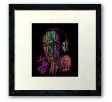 Albert Hoffman LSD Portrait Framed Print