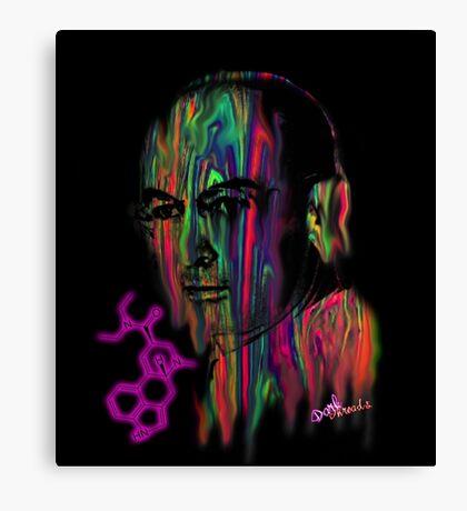 Albert Hoffman LSD Portrait Canvas Print