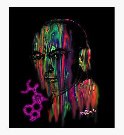 Albert Hoffman LSD Portrait Photographic Print