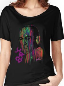 Albert Hoffman LSD Portrait Women's Relaxed Fit T-Shirt