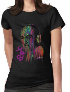 Albert Hoffman LSD Portrait Womens Fitted T-Shirt