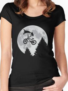 Cool E.T. Women's Fitted Scoop T-Shirt