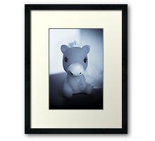 Takara Pony Framed Print